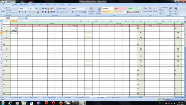 Ifta Spreadsheet Template Free Inside Ifta Spreadsheet Using Excel Sample Worksheets Mileage Sheet Free