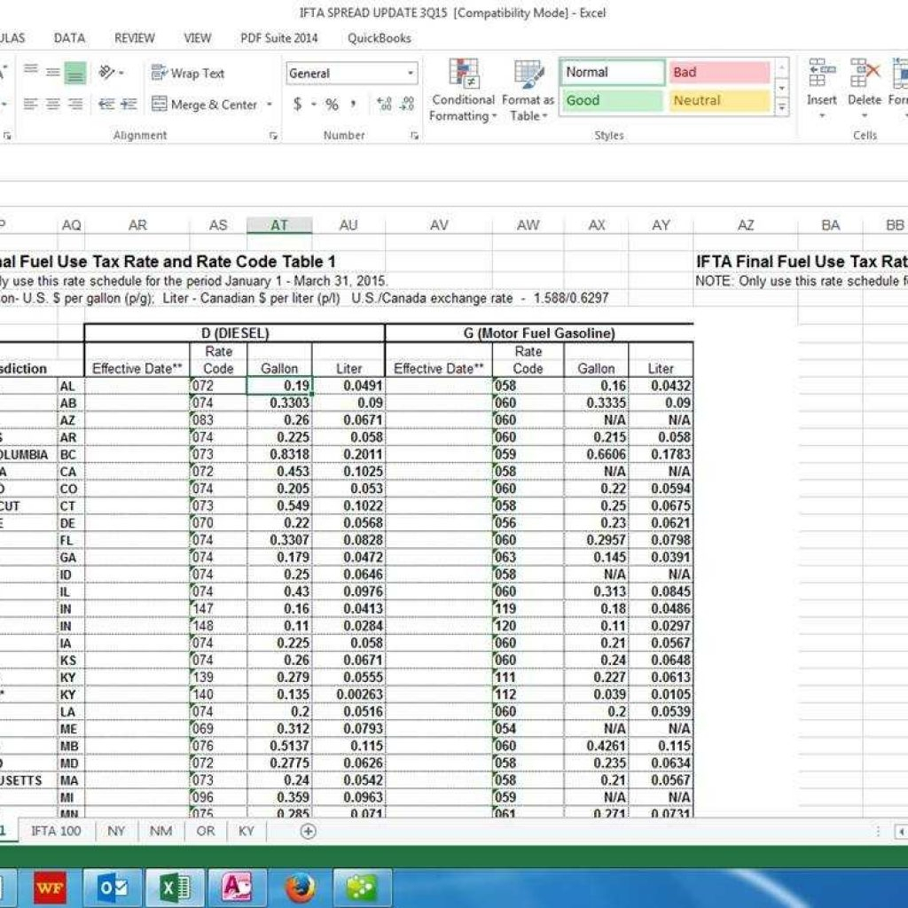 Ifta Spreadsheet Template Free Within Ifta Software  Baratta Enterprises :: 562.437.4447 Within Ifta