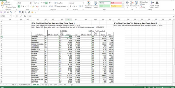 Ifta Spreadsheet Template Inside Ifta Software  Baratta Enterprises :: 562.437.4447 Ifta Spreadsheet Template Google Spreadsheet
