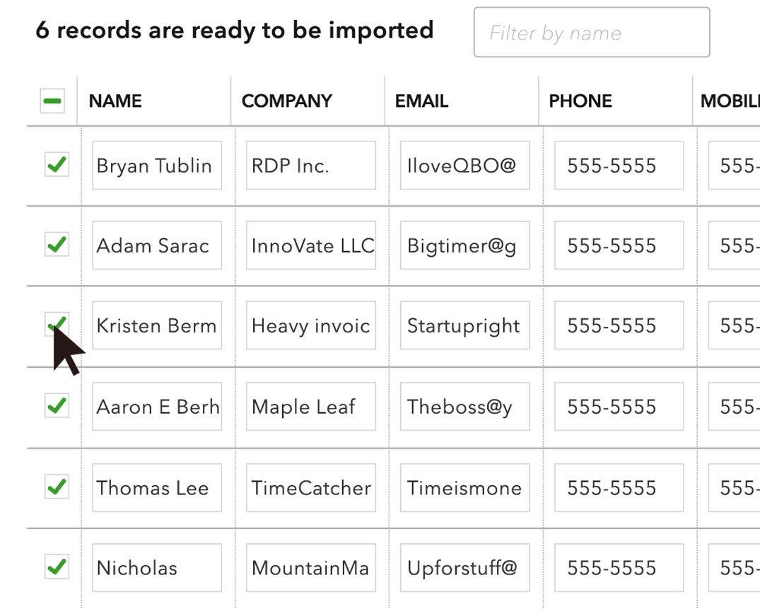 Import Excel Spreadsheet Into Quickbooks With How To Add Customer Information Into Quickbooks