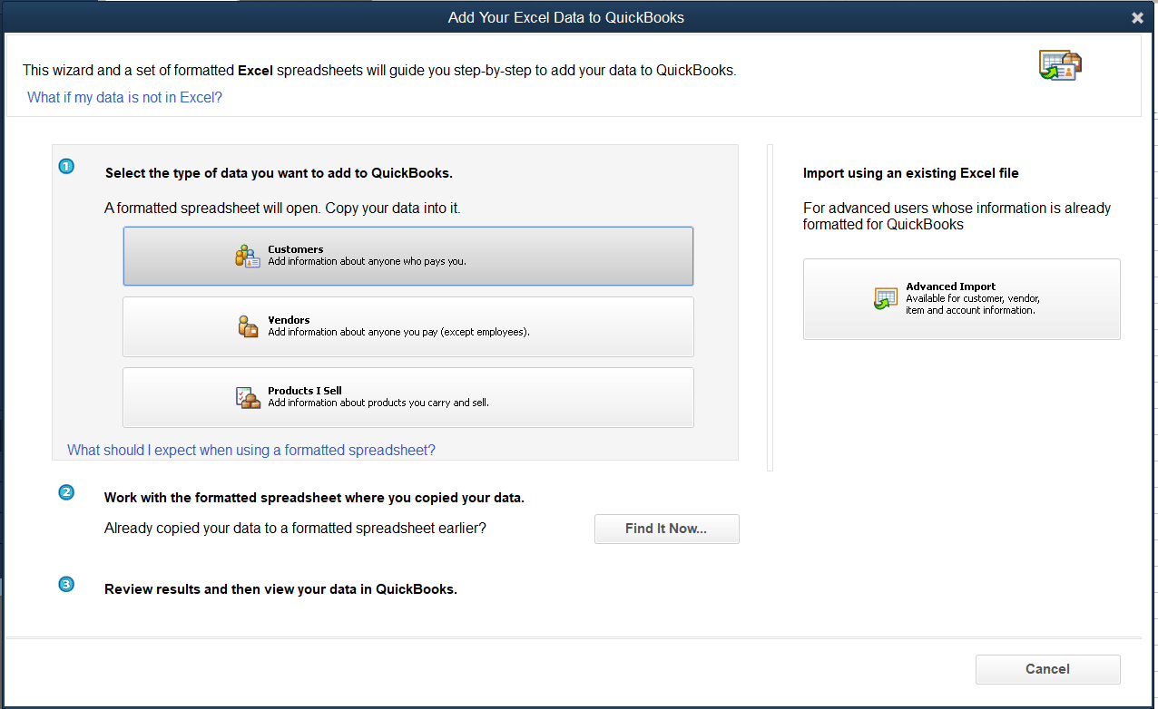 Import Spreadsheet Into Quickbooks With Regard To How To Import Items Into Quickbooks Pro  Merchant Maverick