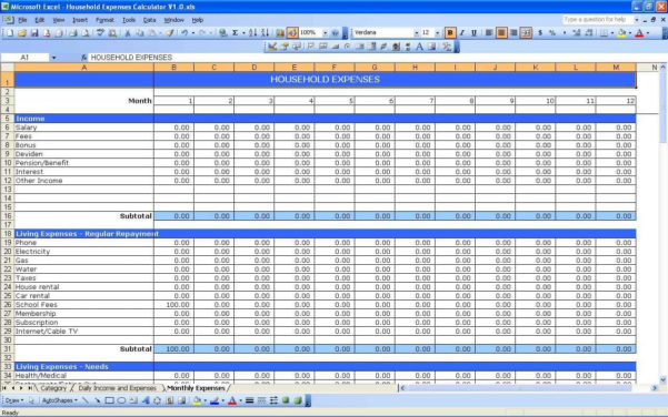 Income And Expenditure Spreadsheet For Small Business Pertaining To Small Business Income And Expense Spreadsheet With Small Business