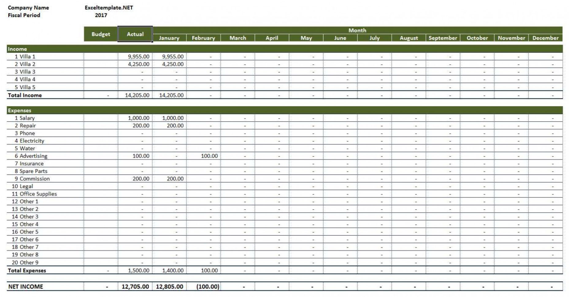 Income Expense Spreadsheet For Rental Property In 008 Template Ideas Income Expenses Spreadsheet Expense Manager Excel