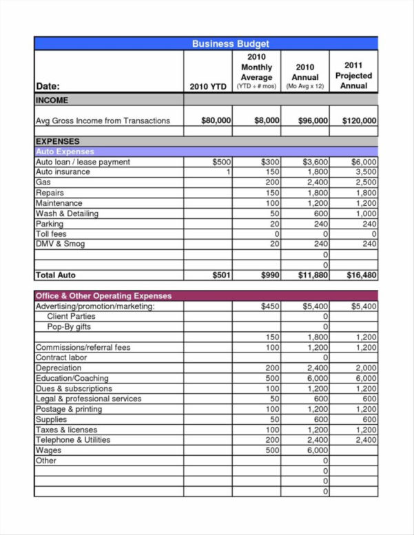 Income Expense Spreadsheet Within Financial Spreadsheet For Small Business Sample Budget Income