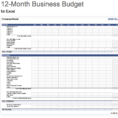 Income Outcome Spreadsheet Template With 7  Free Small Business Budget Templates  Fundbox Blog