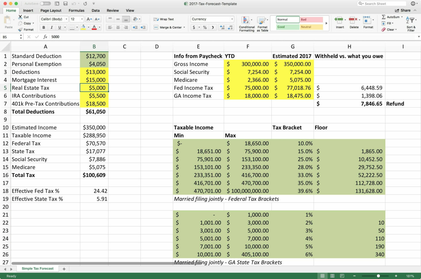 Income Spreadsheet Excel Pertaining To Personal Income Tax Spreadsheet Budget Spreadsheet Excel Spreadsheet
