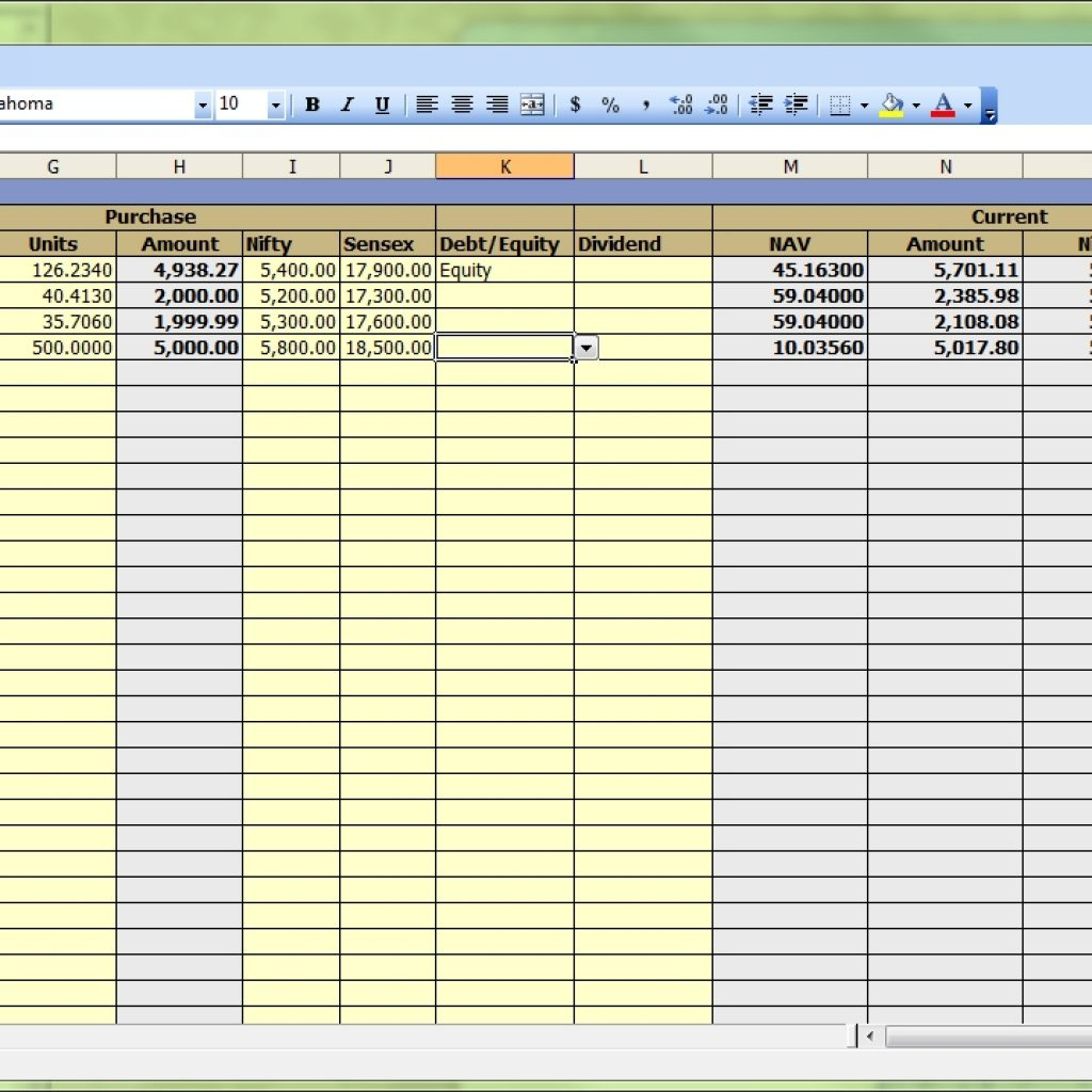 Income Tracker Spreadsheet Intended For Excel Portfolio Tracker  Moneyscaling Regarding Income Tracking