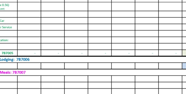 Independent Contractor Spreadsheet Within Free Basic Contractor Expense Report From Formville. Free Detailed