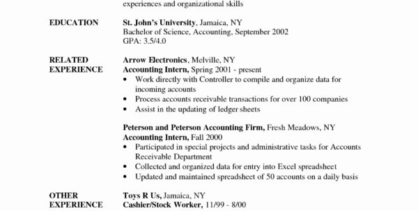 Internship Spreadsheet Pertaining To Application Letter Accountant Position Accounts Payable Cover