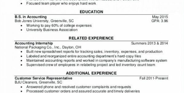 Internship Spreadsheet Regarding Tax Internship Resume Sample Intern Samples Associate Ideal Tax