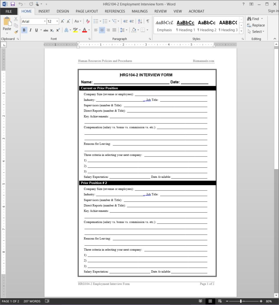 Interview Spreadsheet Template Within Job Interview Worksheet Template
