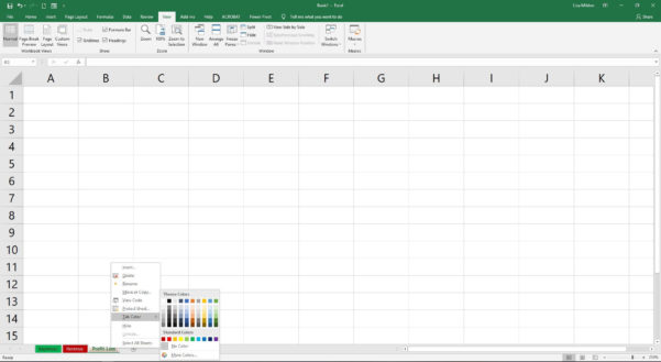 Introduction Of Spreadsheet In Ms Excel For Worksheets And Workbooks In Excel