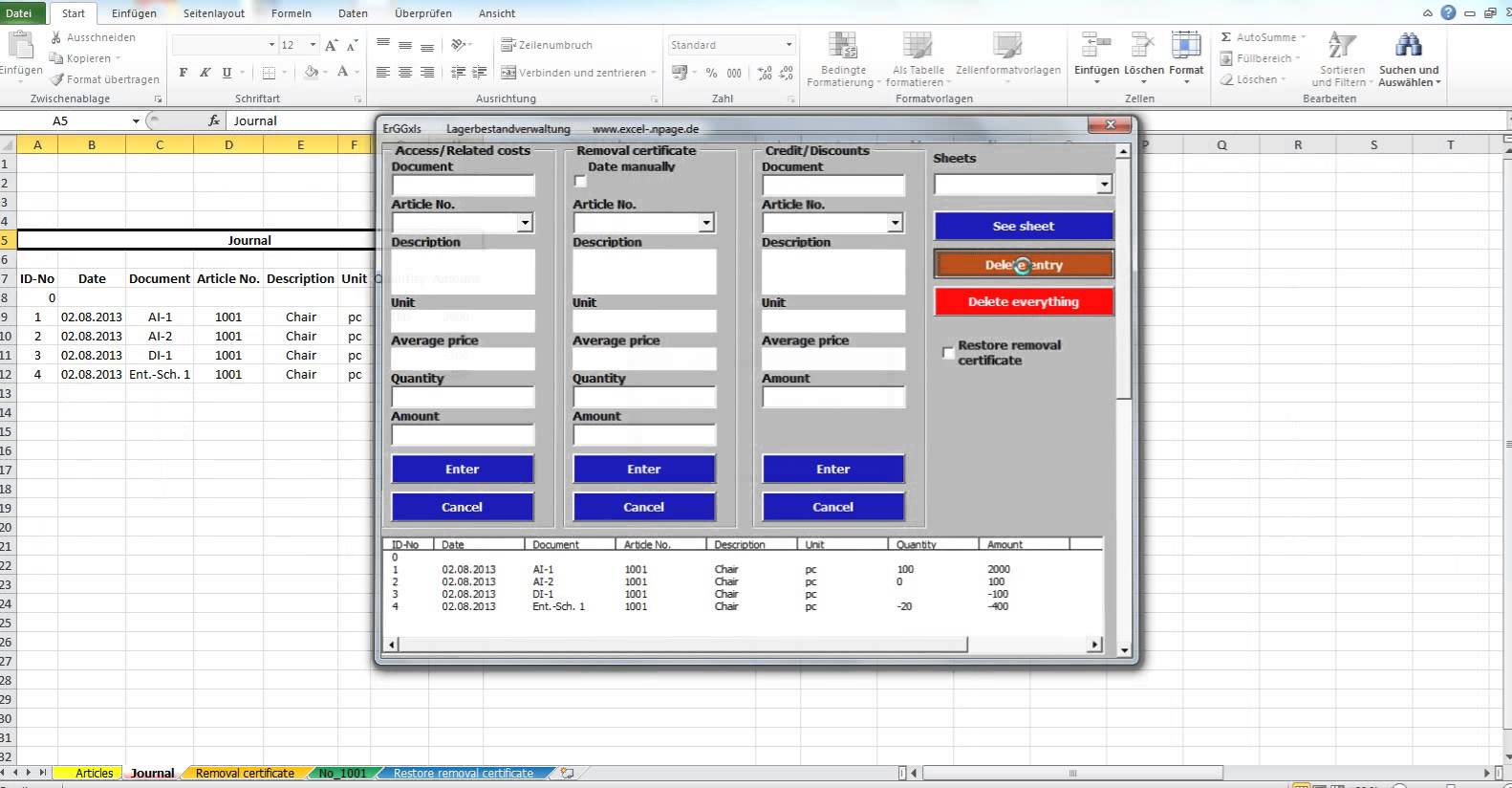 Inventory Control Excel Spreadsheet With Regard To Inventory Management In Excel Free Download