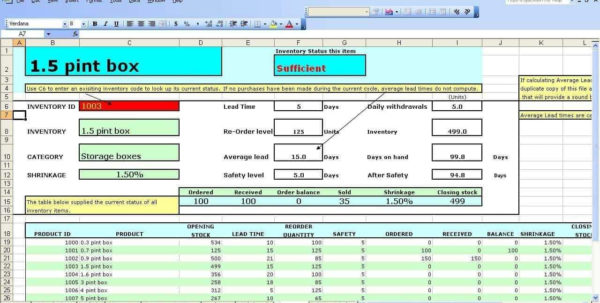 Inventory Control Spreadsheet Free Download Pertaining To Restaurant Inventory Management Spreadsheet Free Download And How To Inventory Control Spreadsheet Free Download Google Spreadsheet