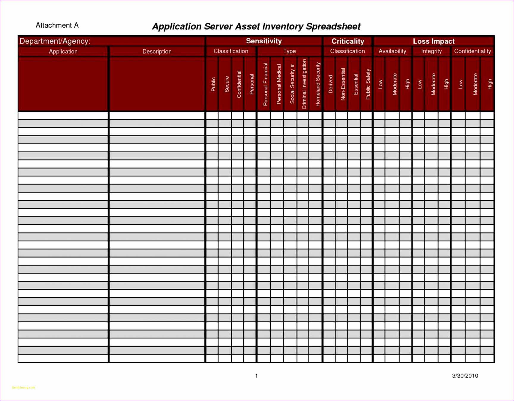 Inventory Control Spreadsheet Template For Cmdb Spreadsheet Template Or Free Excel Templates For Inventory