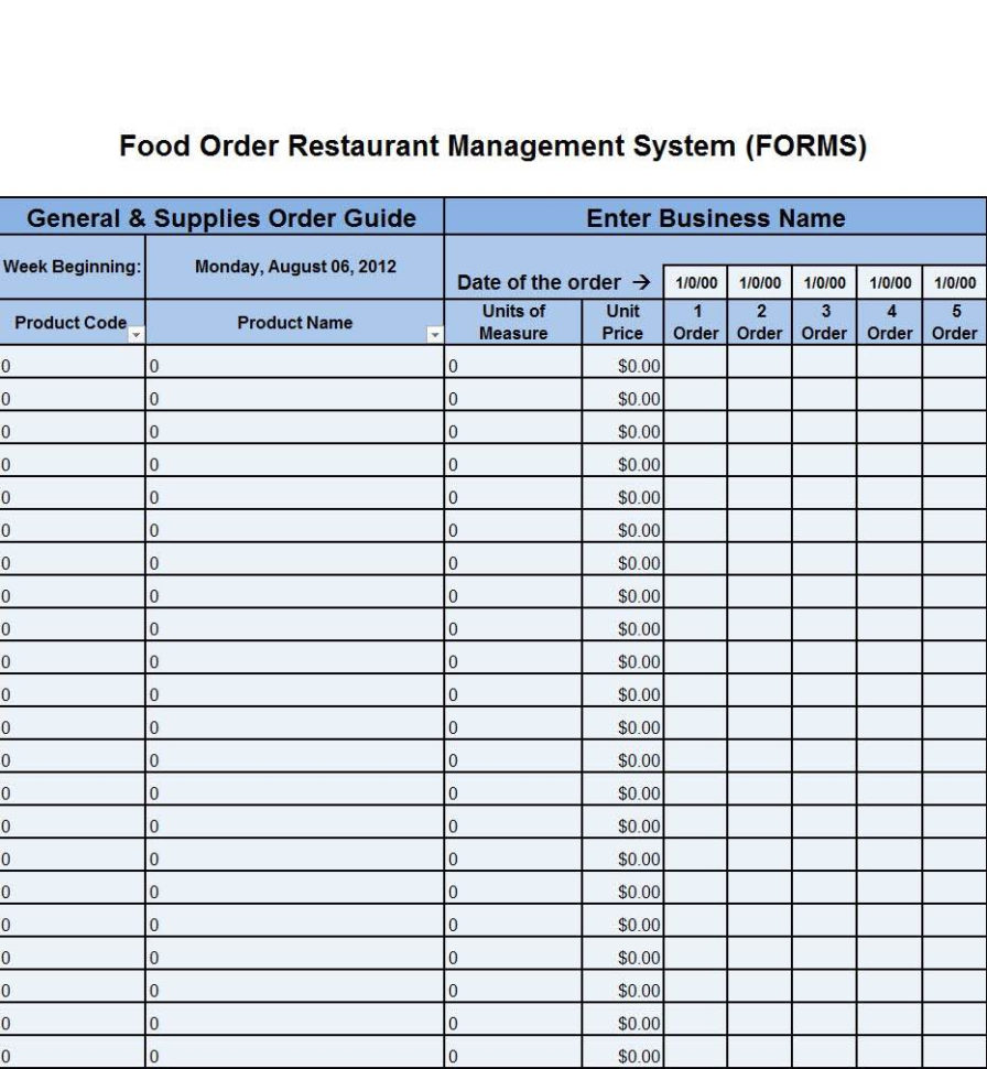 Inventory Count Spreadsheet For Food Storage Inventory Spreadsheet And Food Inventory Count Sheet