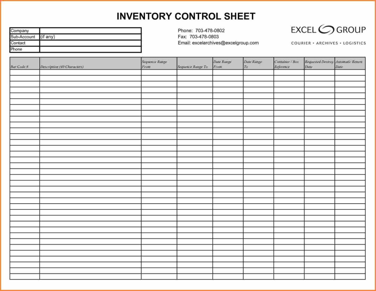 Inventory Count Spreadsheet Inside Sample Physical Inventory Count Sheet Of Stock Example Template