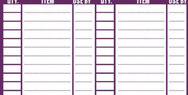 Inventory Count Spreadsheet Intended For Free Printable Inventory Sheets Template And Free Printable