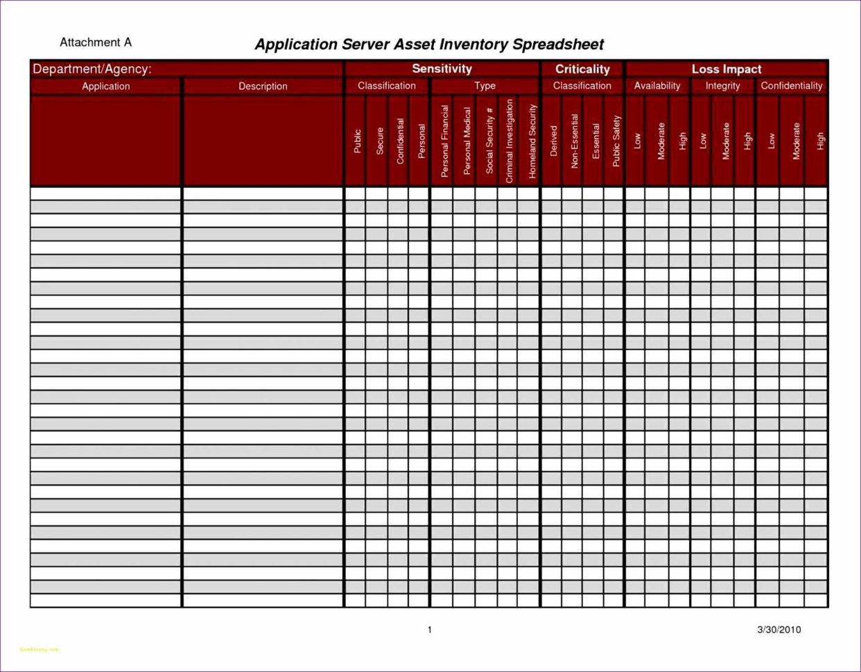 Inventory Management Spreadsheet Template With Regard To Cmdb Spreadsheet Template Or Free Excel Templates For Inventory