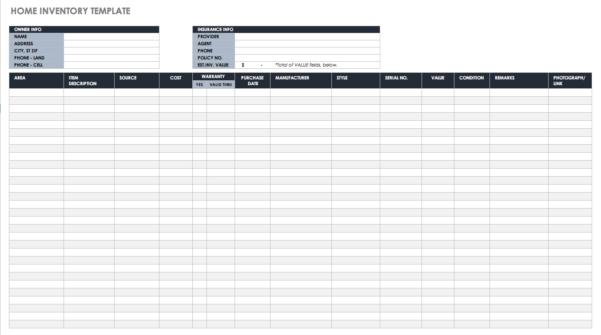 Inventory Spreadsheet Excel Regarding Free Excel Inventory Templates