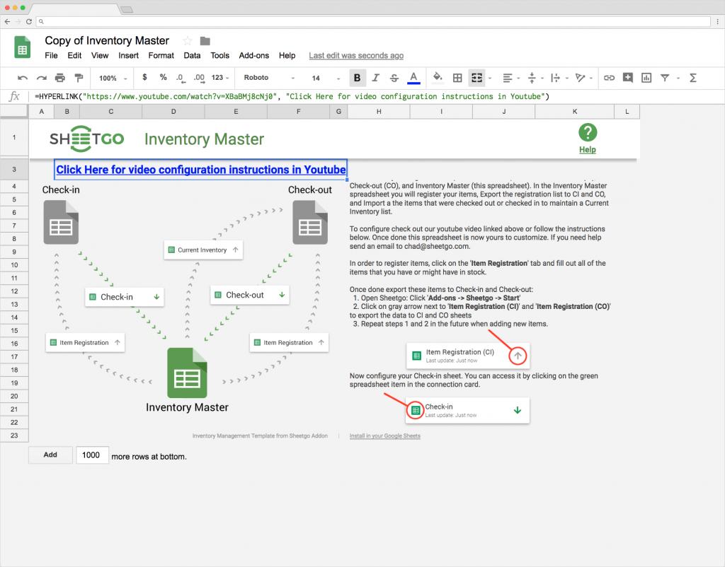 Inventory Spreadsheet Google Inside Top 5 Free Google Sheets Inventory Templates · Blog Sheetgo