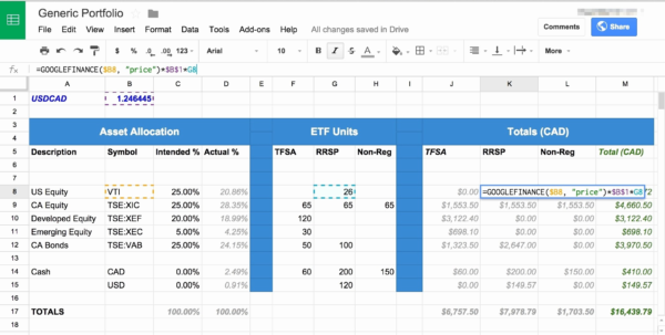 Investment Portfolio Spreadsheet Intended For Sample Investment Portfolio Templates Save Sample Stock Portfolio