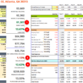 Investment Property Cash Flow Spreadsheet Throughout The Ultimate Real Estate Investing Spreadsheet.