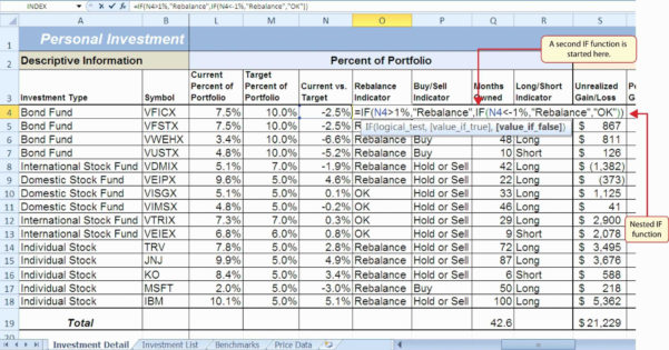 Investment Spreadsheet Pertaining To Rental Property Return On Investment Spreadsheet Management Free