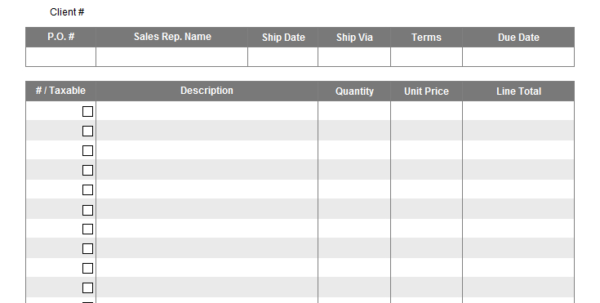 Invoice Spreadsheet Template Free Intended For All Of Our Invoice Templates Are Editable