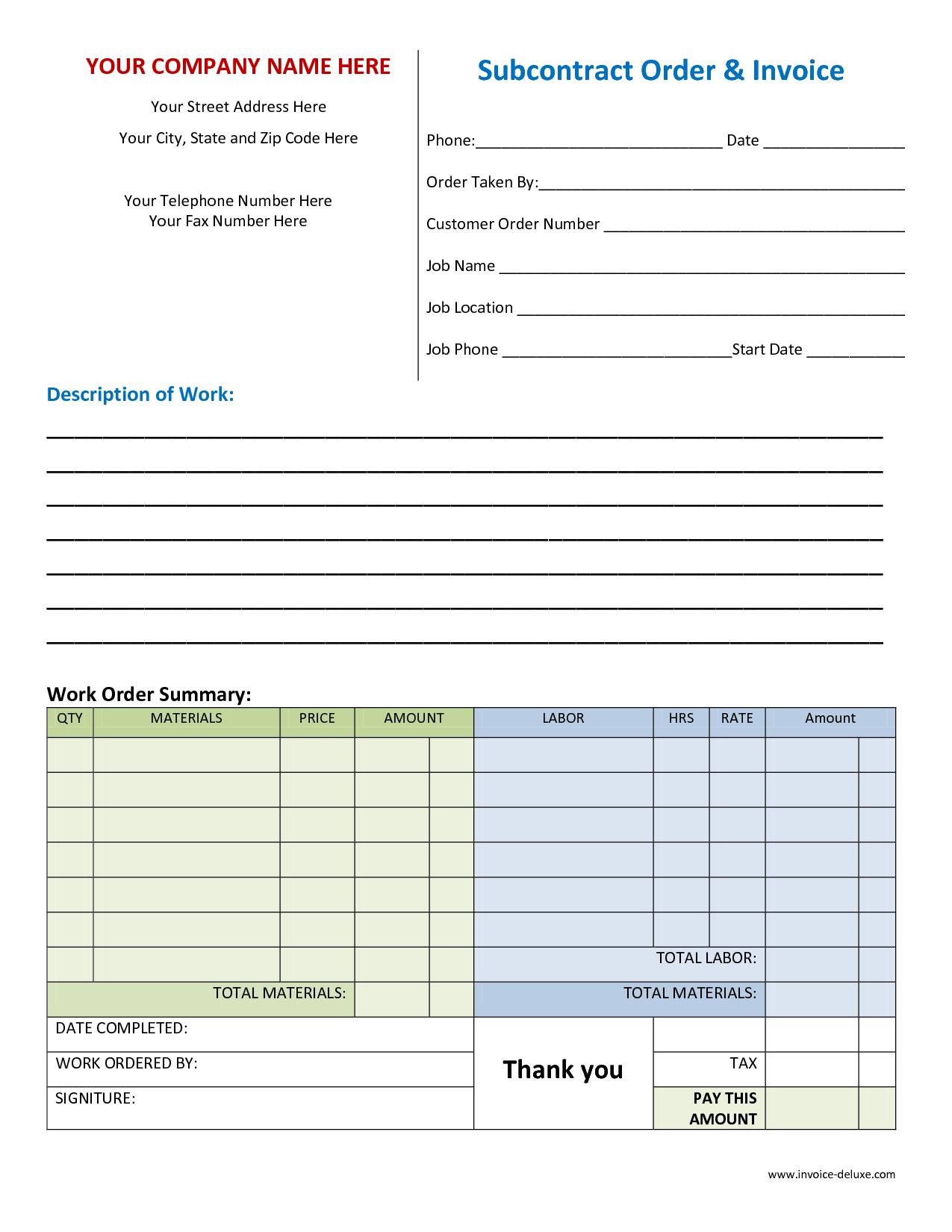 Invoice Spreadsheet Template Free Regarding Billing Spreadsheet Template And Microsoft Works Invoice Template