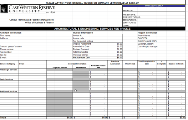 Invoice Spreadsheet Template Intended For 40  Invoice Templates: Blank, Commercial Pdf, Word, Excel