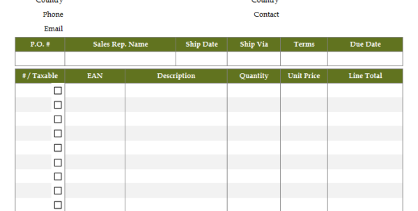 Invoice Spreadsheet Template Regarding Sales Invoice Template