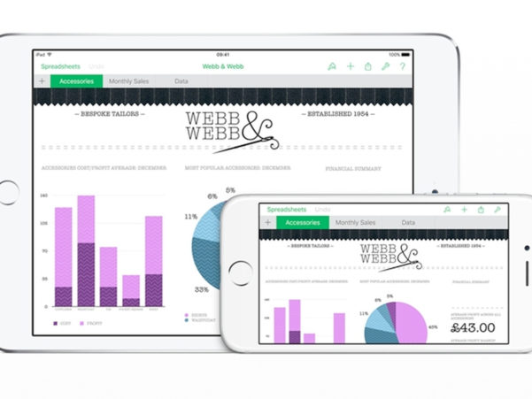 Ios Spreadsheet For Apple Numbers 2.6.1 For Iphone, Ipad Review  Macworld Uk