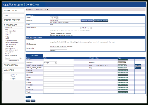 Ip Address Management Spreadsheet With Ip Address Management Ipam Made Simple  Appliansys