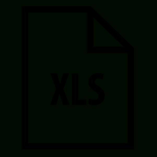 Iphone Spreadsheet Free With Regard To Xls Icon  Free Download, Png And Vector