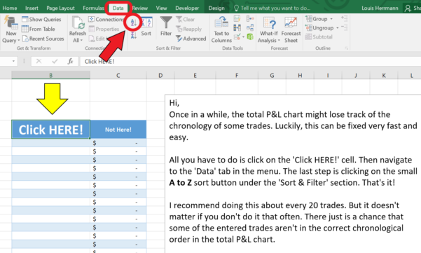 Iron Condor Excel Spreadsheet With Excel Trading Journal Template Guide  Trade Options With Me