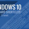 Is There A Spreadsheet On Windows 10 With Windows 10 Keyboard Shortcut Cheat Sheet  Braintek