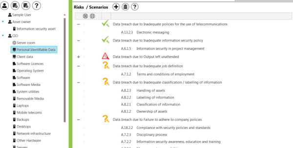 Iso 27001 2013 Risk Assessment Spreadsheet Regarding Identifying Assets For Conducting An Assetbased Information