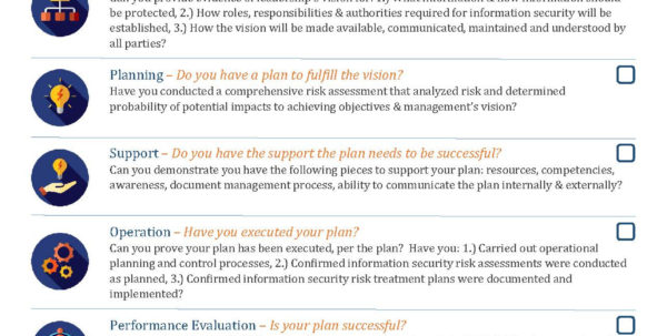 Iso 27001 2013 Risk Assessment Spreadsheet Within Iso 27001 Checklist Free Pdf  Xls Downloads  Pivot Point Security