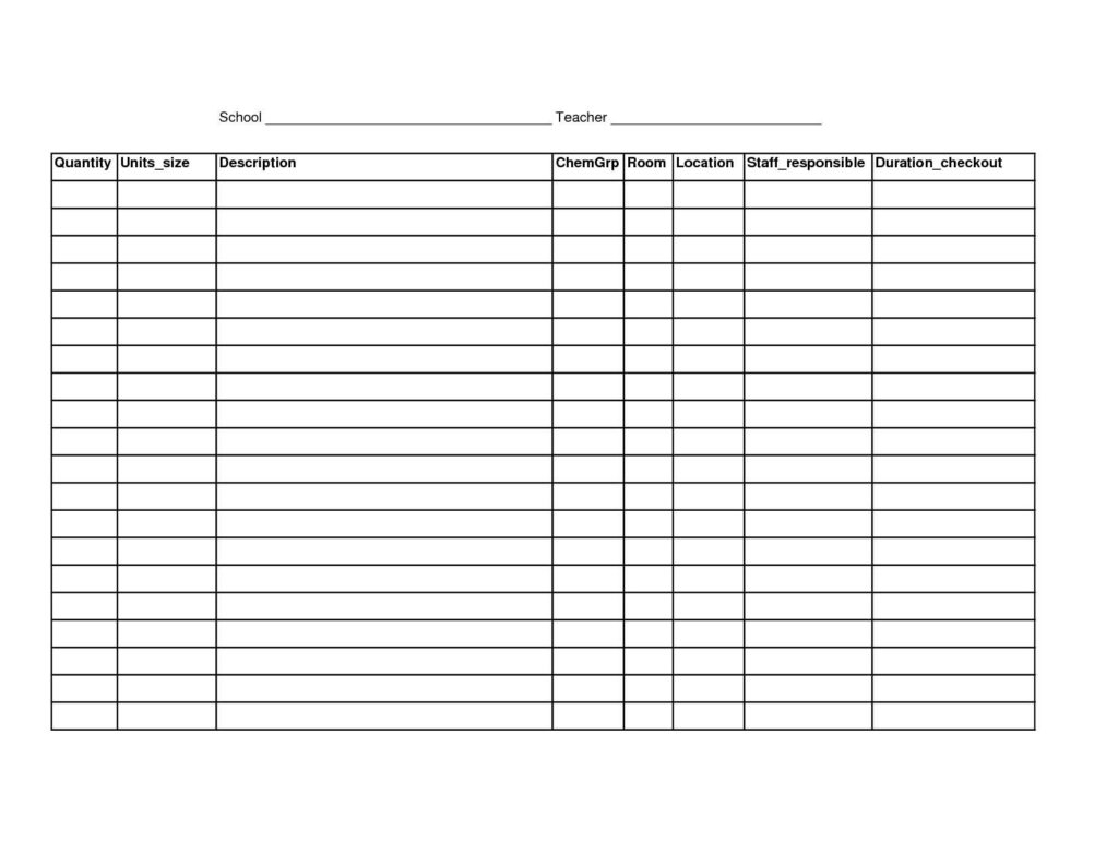Issue Tracking Spreadsheet Template Excel Throughout Simple Inventory Sheet Template And 100 Excel Inventory Templates
