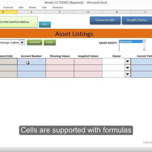 It Asset Tracking Spreadsheet In Client Asset Data Management Tool In Excel  Youtube Regarding Asset