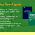 Ite Parking Generation Spreadsheet For Ite Activities Update Aashto Subcommittee On Traffic Engineering