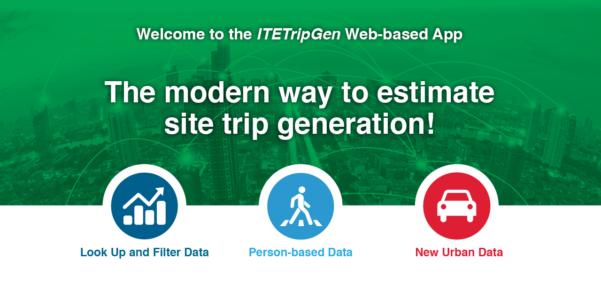 Ite Parking Generation Spreadsheet Throughout Itetripgen Webbased App