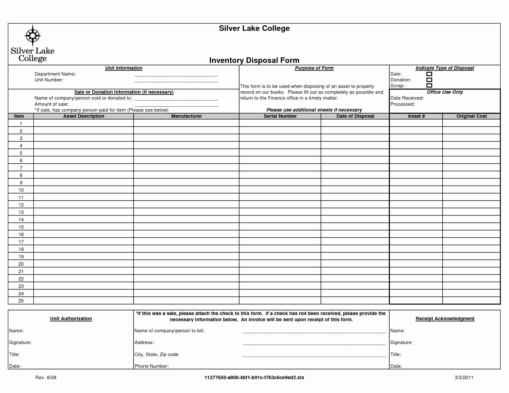 Itemized Spreadsheet Regarding Itemized Spreadsheet Template Lovely Goodwill Donation Form Pdf For