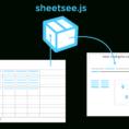 Javascript Spreadsheet Api In Sheetsee.js