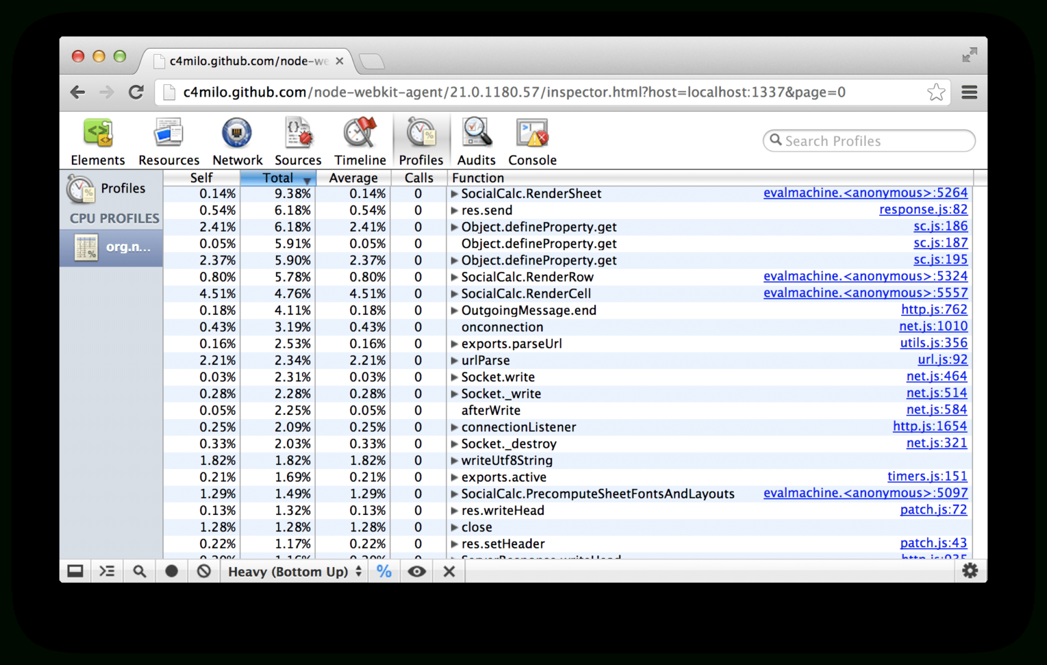 Javascript Spreadsheet Editor With Ethercalc