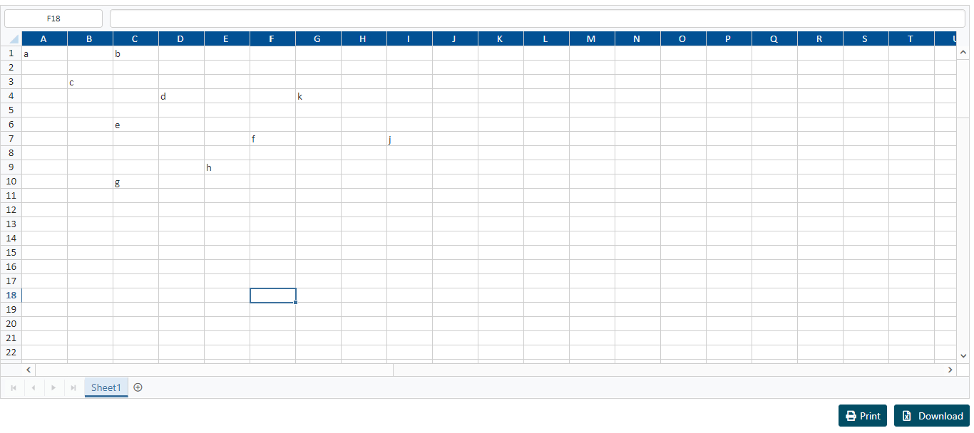 Javascript Spreadsheet Widget Throughout Spreadsheet Will Not Print Grid Lines.  Javascript Jquery Forums