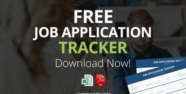 Job Application Tracker Spreadsheet Pertaining To Job Application Tracker  Free Pdf  Excel Job Application Tracker