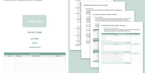 Job Cost Analysis Spreadsheet With Regard To Free Cost Benefit Analysis Templates Smartsheet