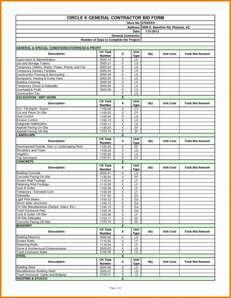 Job Costing Spreadsheet With Construction Job Costing Spreadsheet Cost Template Estimate Excel
